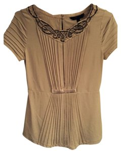 BCBGMAXAZRIA Top Cream