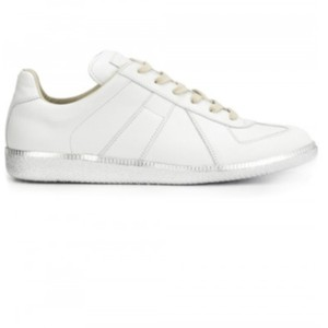 95f93c8fb1381 Silver Maison Margiela Sneakers - Up to 90% off at Tradesy