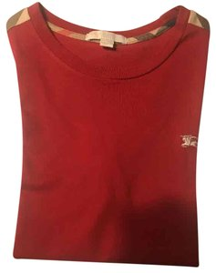 Burberry Young Boy Shirt T Shirt Red