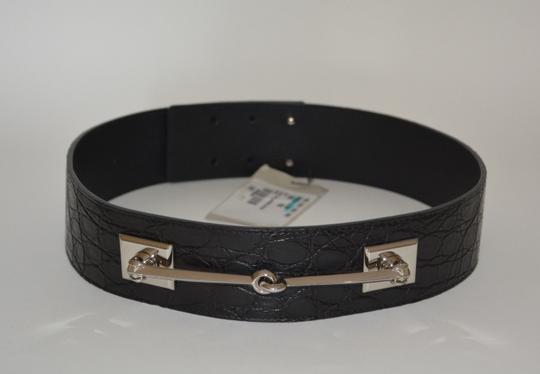 Gucci NWT GUCCI CROCODILE LEATHER HORSEBIT WAIST BELT SZ 34 85 MADE IN ITALY Image 1