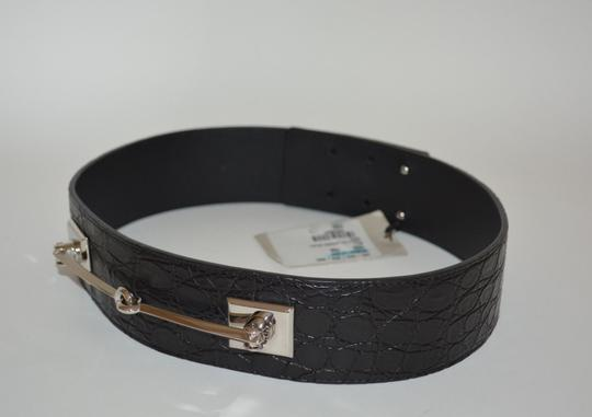 Gucci NWT GUCCI CROCODILE LEATHER HORSEBIT WAIST BELT SZ 34 85 MADE IN ITALY Image 2