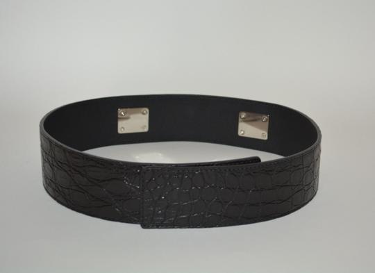 Gucci NWT GUCCI CROCODILE LEATHER HORSEBIT WAIST BELT SZ 34 85 MADE IN ITALY Image 4