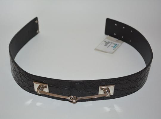 Gucci NWT GUCCI CROCODILE LEATHER HORSEBIT WAIST BELT SZ 34 85 MADE IN ITALY Image 6