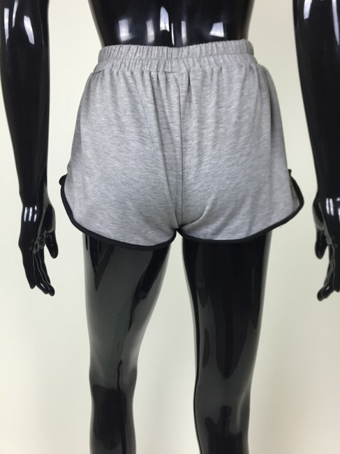 Peces And White gray, black Shorts Image 2