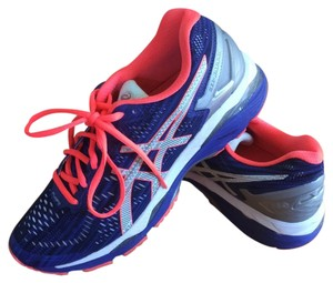 Asics Running Comfortable Sporty Bright Blue and pink Athletic