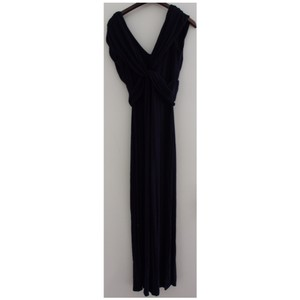 navy Maxi Dress by T-Bags Los Angeles