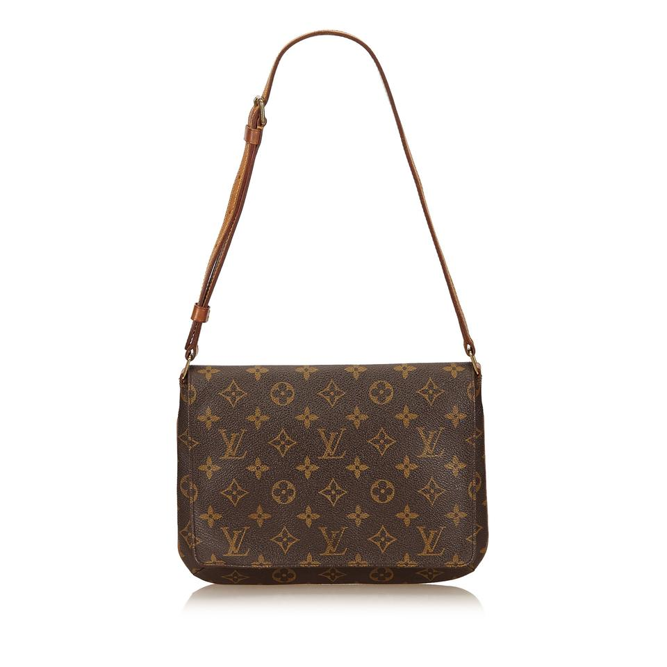 a2028939abc4 Louis Vuitton Monogram Musette Short Strap Shoulder Bag Image 7. 12345678