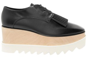 Stella McCartney Vegan Elyse Derby black Platforms
