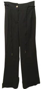 Dolce&Gabbana Seasonless Slacks Vintage Wide Leg Pants Black