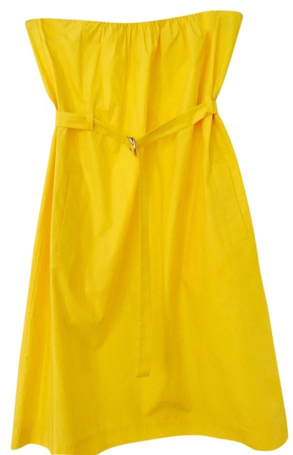 Theory short dress Yellow on Tradesy