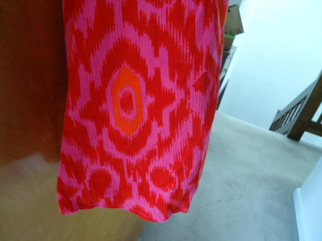 Old Navy Summer Maxi Skirt Hot Pink/Orange
