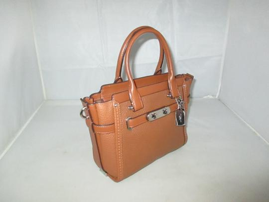 Coach Next Day Shipping Satchel in Saddle Image 1