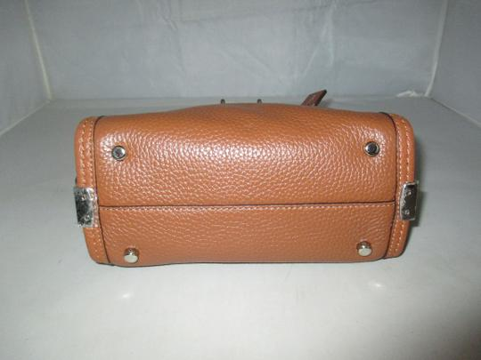 Coach Next Day Shipping Satchel in Saddle Image 10