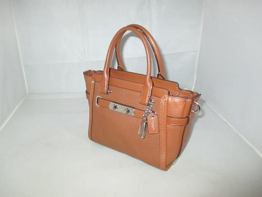 Coach Next Day Shipping Satchel in Saddle Image 2