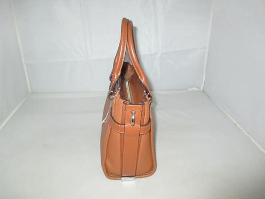 Coach Next Day Shipping Satchel in Saddle Image 6