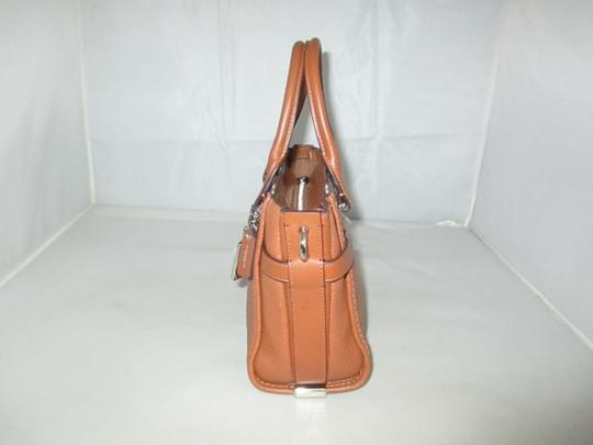 Coach Next Day Shipping Satchel in Saddle Image 7