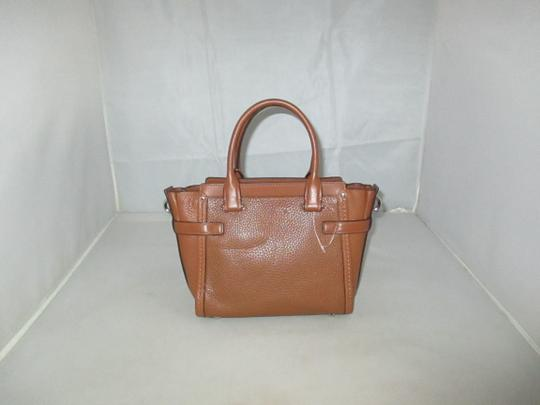 Coach Next Day Shipping Satchel in Saddle Image 8