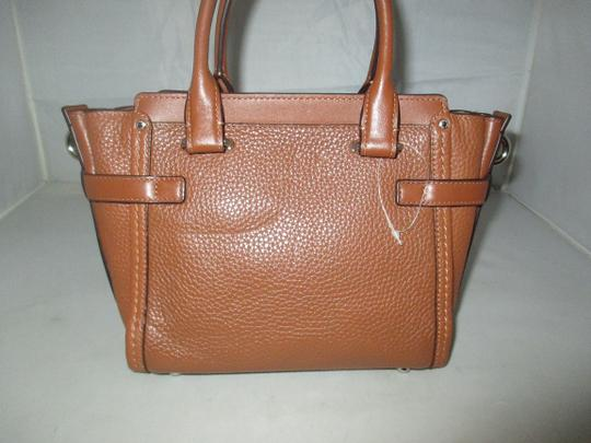 Coach Next Day Shipping Satchel in Saddle Image 9
