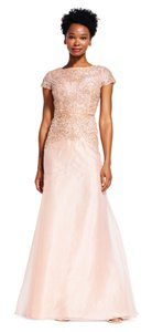 Adrianna Papell Embellished Beaded Dress