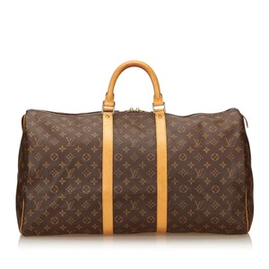 Louis Vuitton 7glvdb015 Brown Travel Bag