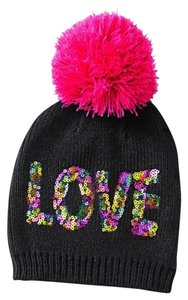 Betsey Johnson Betsey Johnson xox Trolls Love Multi-Sequin Beanie 745338ee1f0d