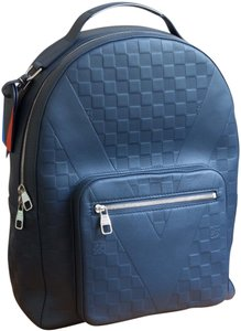 Louis Vuitton Damier Infini Rare Limited-edition Blue Backpack
