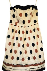The Limited Strapless Polka Dot Dress