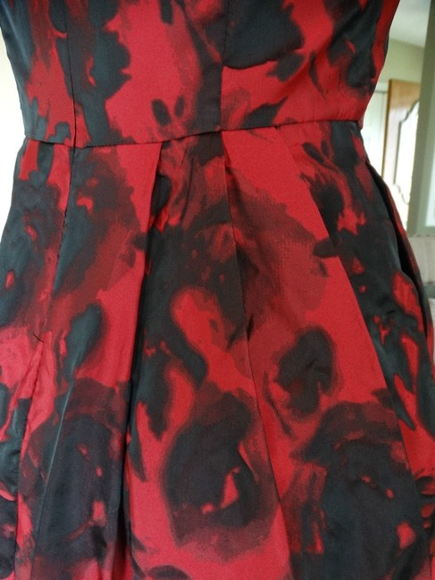 Betsey Johnson Cap Sleeve Zipper Pockets Fit And Flare Dress Image 10