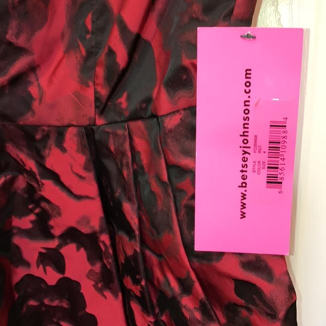 Betsey Johnson Cap Sleeve Zipper Pockets Fit And Flare Dress Image 3