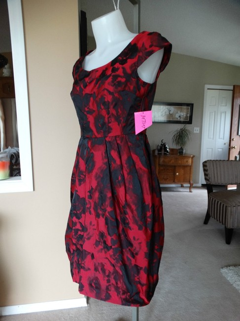 Betsey Johnson Cap Sleeve Zipper Pockets Fit And Flare Dress Image 7
