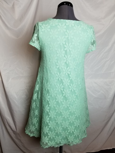 Urban Outfitters short dress Mint, Green Lace Kimchi Blue Mod Floral on Tradesy Image 2