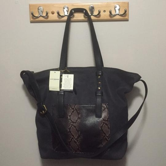 Lucky Brand Tote in Black Image 1