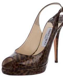 Jimmy choo Leopard Sandals