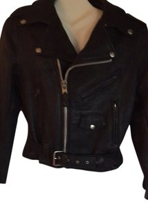 Kids Leather Jacket Black Jacket