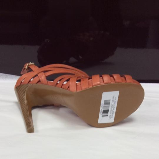 Via Spiga Orange Pumps