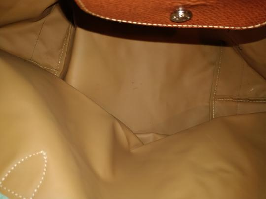 Longchamp Le Pliage Tote in Green/Teal Image 3