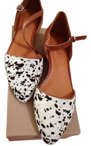 Leopard Print leopard/brown leather combo Wedges