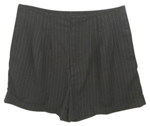 Jean-Paul Gaultier for Target Dress Shorts Black w/white thin pin stripes
