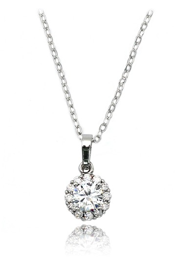 Preload https://img-static.tradesy.com/item/22095880/silver-shining-cabinet-micro-crystal-necklace-0-0-540-540.jpg