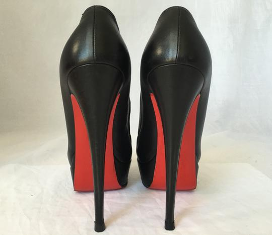 Christian Louboutin High Heel Ankle Pump Black Boots Image 5