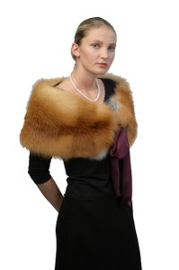 madisonavemall Real Fur Capelet Real Fox Capelet Fox Trim Capelet Natural Fox Capelet Womens Capelet Cape