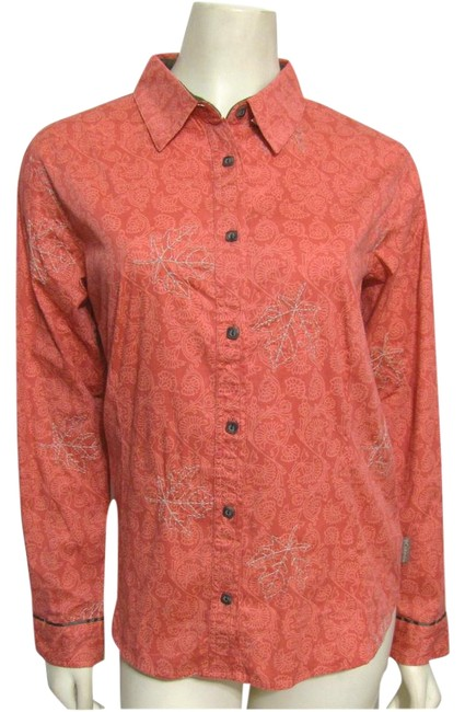 Preload https://img-static.tradesy.com/item/22096322/columbia-sportswear-company-pink-new-maple-leaf-shirt-cotton-button-down-top-size-6-s-0-1-650-650.jpg