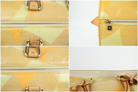 Louis Vuitton Keepall Mercer Carryall Limited Edition Rare Multicolor Travel Bag Image 10