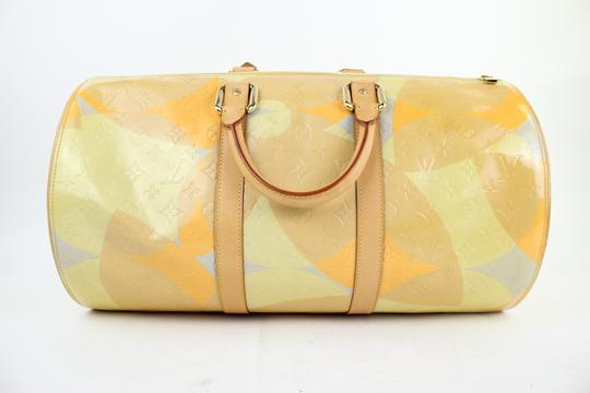 Louis Vuitton Keepall Mercer Carryall Limited Edition Rare Multicolor Travel Bag Image 5