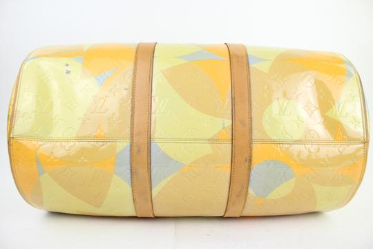 Louis Vuitton Keepall Mercer Carryall Limited Edition Rare Multicolor Travel Bag Image 7