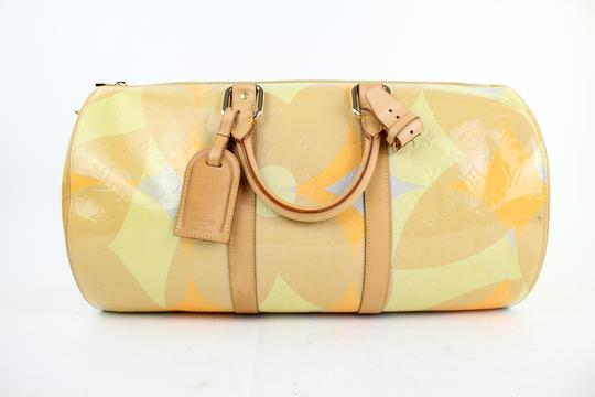Louis Vuitton Keepall Mercer Carryall Limited Edition Rare Multicolor Travel Bag Image 8