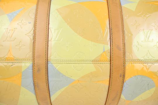 Louis Vuitton Keepall Mercer Carryall Limited Edition Rare Multicolor Travel Bag Image 9