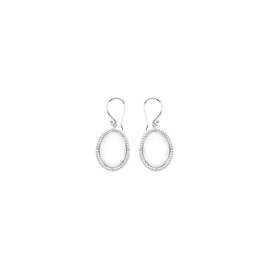 Preload https://img-static.tradesy.com/item/22096615/white-silver-sterling-oval-agate-and-bead-cz-3016-ct-earrings-0-0-540-540.jpg