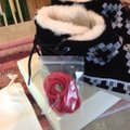 Kim & Ozzie Native Booties black, red, white Boots Image 2