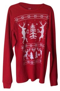 Cure Thermal Red Deer Shirt Sweater